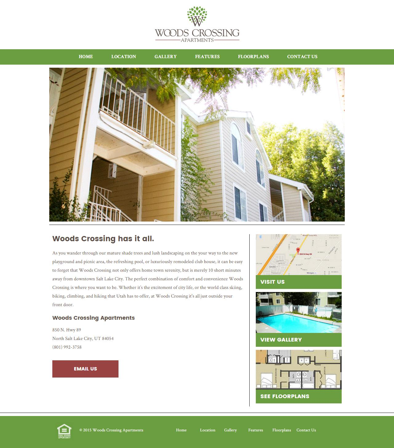 Towson Woods Apartments: Woods Crossing Apartments